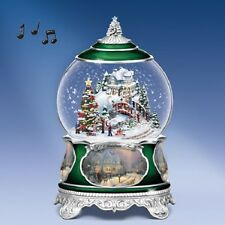 O Christmas Tree Christmas Water / Snow Globe Songs of the Season Thomas Kinkade