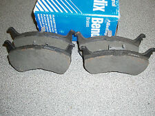Mazda 6 02-07 2.0 est 145 drivetec front brake pads 28 mm for Vented brake discs