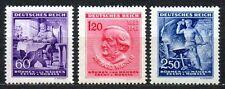 Germany / Bohmen und Mahren - 1943 Wagner / Music Mi. 128-30 MNH