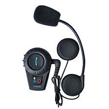 FDC Intercomunicador Interphone moto Bluetooth Auriculares Microauricular 500mtr
