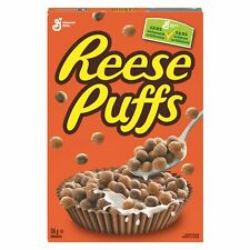Reese's Puffs American Cereals Sweet and Crunchy Corn Puffs 326g