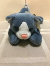"""24K BEANIE BOPPERS """"ASHES THE CAT"""" 1997  PLUSH STUFFED ANIMAL   SPECIAL EFFECTS"""