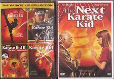 The Karate Kid 1, 2, 3 & 4 Original + Remake Film DVD 5-Movie Pack BRAND NEW