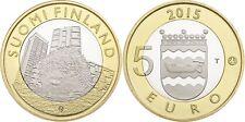 5 EURO FINLANDE 2015 UNC - HERISSON