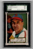 1952 Topps Baseball #79 Gerald Staley (red back) - SGC 5.5 EX+   **SHARP**