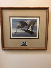 1993 Connecticut Duck Stamp and Print Thomas Hirata signed and numbered