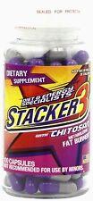 Stacker 3 Ephedra Free Weight Loss & Energy Herbal Supplement 6 Btls X 20ct=120