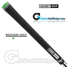Boccieri Golf Secret Midsize Counterbalance Grips - Black / Green x 1