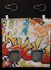 Fabric Hay feeder bag graffiti - guinea pig, bunny