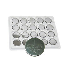 20Pcs CR2450 3V 2450 Lithium Watch Battery DL2450 BR2450 Button Coin Cell PKCELL