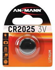 Ansmann CR2025 3V Lithium Button Cell