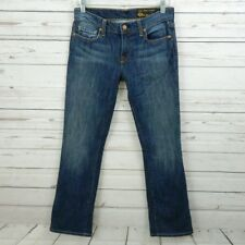 CHIP & PEPPER Pamela Straight Leg Stretch Faded Jeans Size 27 A6