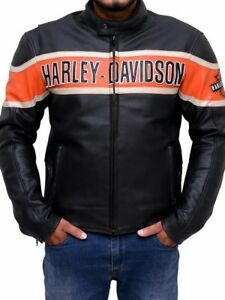 Hardly Davidson Genuine Leather Bicker 100% Real Leather