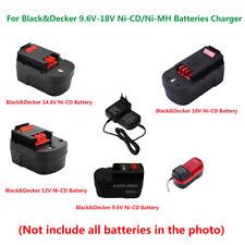 Black&Decker 9.6V-18V A18 HPB12 Ni-Cd/Ni-MH Battery Charger (100V-240V EU PLUG)