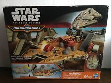 Star Wars: The Force Awakens MicroMachines Millennium Falcon Playset