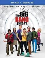 The Big Bang Theory ~ Complete 9th Ninth Season 9 Nine BRAND NEW US BLU-RAY SET