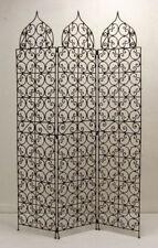 Biombo de hierro Tabique pared divisoria hecho a mano ESPAÑOL pared 180cm