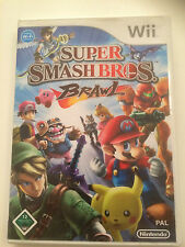 Juego Wii-Super Smash Bros Brawl.