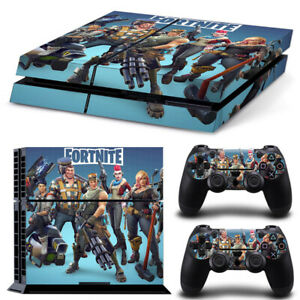 Hot New PS4 Playstation 4pcs Skin Sticker Decal Console+Controllers Vinyl-6954
