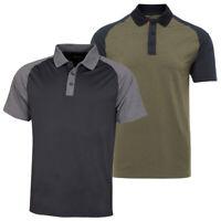 Wolsey Mens Block Colour Lightweight Golf Polo Shirt 72% OFF RRP