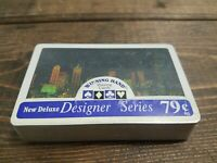 Vintage Winning Hand Deluxe Playing Cards New Sealed 1980s Night Skyline    C11