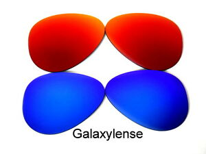 Galaxy Replacement Lenses For Ray Ban RB3025 Aviator Blue&Red 58mm Polarized