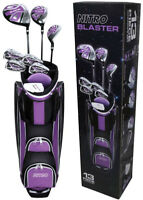 Golf Club Complete Set for Ladies 13-Piece Right Handed Blaster Titanium