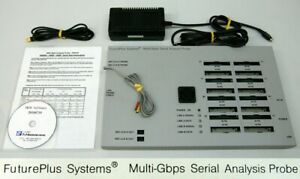 Futuro Más Sistemas FS4410 Multi-Gbps Serial Análisis Medidor