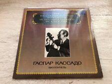 Gaspar Cassado Cello Recital Haydn Faure Elgar Dvorak Vinyl LP USSR Melodiya