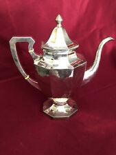 ANTIQUE AMERICAN STERLING SILVER ARTS AND CRAFTS CREAMER BY LEBOLT 316 GRAMS