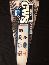 2011 MENS NCAA CWS COLLEGE WORLD SERIES OMAHA Roll It Up Pennant 12 x 30