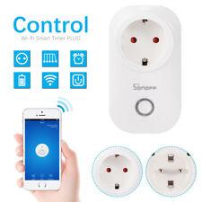 Sonoff S20 WIFI Smart Steckdose App Fernbedienung Home Socket Zeitschaltuh HS106