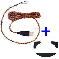 Razer Overwatch DeathAdder 2013 Chroma USB  Mouse cable & 1 set Feet / Skates