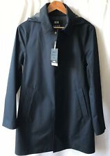 Uniqlo U Lemaire Blocktech Single Hooded Coat Wind Water Repellent Navy XS NWT