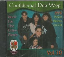 CONFIDENTIAL DOO WOP - CD - Vol. 10 - Music For The Whole Family - BRAND NEW
