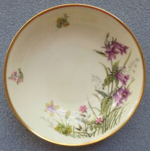 Franconia Krautheim Selb Bavaria Germany Meadow Flowers Bowl Design D