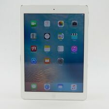 "Apple iPad Air 2 32GB WiFi & Cellular 9.7"" White/Sliver Warranty Grade A-"