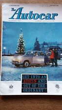 Autocar Magazine 23/12/1960 Test Borgward 2.3 Sporting Year Results