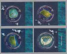 PITCAIRN ISLANDS - 2008 - Pitcairn from Space. Complete set, 4v. Mint NH