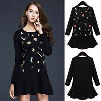 New Womens Ladies Party Club Dress Clubwear AU Size 8 10 12 14 16 18 20 22 #8051