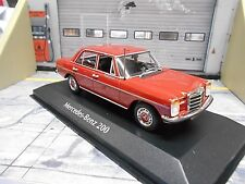 Mercedes Benz E 200 D DIESEL Limousine/8 w114 w115 rouge maxichamps MINICHAMPS 1:43