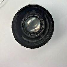 Vintage Cooke Panfo Anastigmat FL 50mm F2.8 35mm Cine Camera Lens clean Rare!
