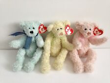 3 x TY Beanie Babies Attic Treasures Collection Armstrong Marigold Scarlet Tags