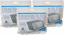 (3 Pack) Pioneer Replacement Fountain Filters for Plastic Fountains 3 Pack