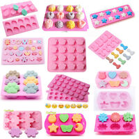 3D Silicone Cake Decorating Mould Candy Cookies Soap Chocolate Baking Mold Tools