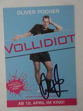 Oliver Pocher original handsignierte Autogrammkarte!!! Comedian