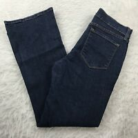 NYDJ Not Your Daughters Jeans Bootcut Women's Sz 6P Stretch Dark Wash USA 29x28
