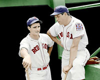Jimmie Foxx  Doerr Photo 8X10 Red Sox 1939 COLORIZED - Buy 2 Get 1 Free