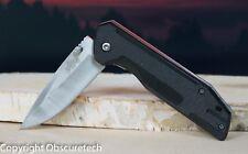 Black Speed Lock Spring Assisted Tactical Survival Knife w Belt Clip 43BK