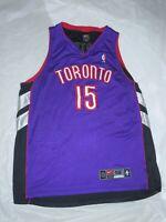 Authentic Toronto Raptors Vince Carter Jersey Nike 52 Purple #15
